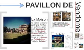 Pavillon de Vendome