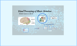 Visual Processing Music Notation