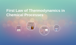 First Law of Thermodynamics in Chemical Processes