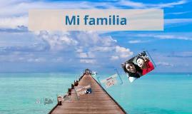 Copy of Mi familia