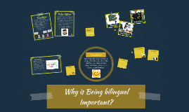 why is it important to be bilingual
