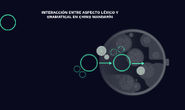 INTERACCIÓN ENTRE ASPECTO LÉXICO Y GRAMATICAL EN CHINO MANDA