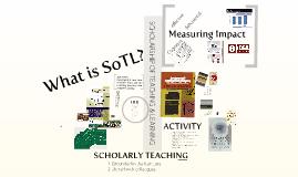 What is SoTL?