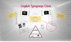 English Language class