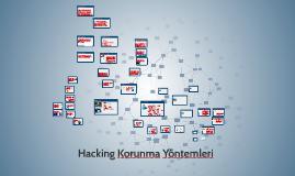 Hacking Korunma Yöntemleri