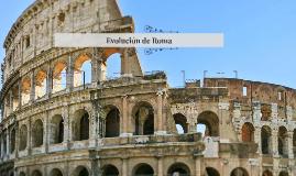 Evolución de Roma