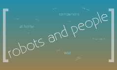robots and people