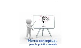 Copy of Marco conceptual para la práctica docente.