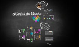 Copy of Copy of Métodos de Diseño