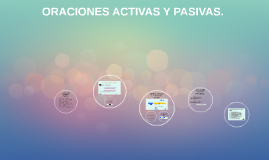 Copy of ORACIONES ACTIVAS Y PASIVAS