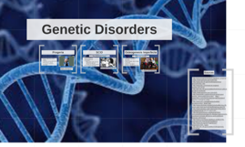 Genetic Disorders Biology Project