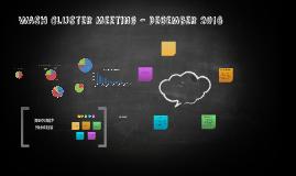 WASH Cluster Meeting Dec