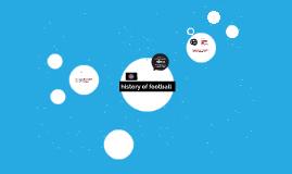 history of football