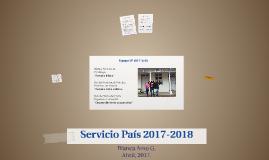 Servicio País 2017-2018