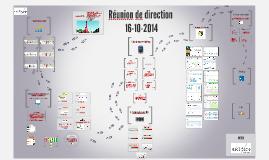 Réunion direction 2014