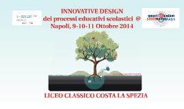 INNOVATIVE DESIGN - NAPOLI, 9-10-11 OTT 2014 - SMART EDUCATION&TECHNOLOGY DAYS