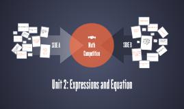 Unit 2: Math Competition