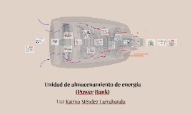 Unidad de almacenamiento de energía  (Power Bank)