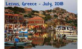 Lesvos, Greece - July, 2018