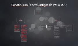 Constituição Federal, artigos de 194 a 200