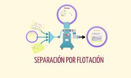 Copy of Separacion por flotacion