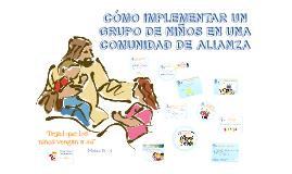 GRUPO DE NIÑOS EN UNA COMUNIDAD