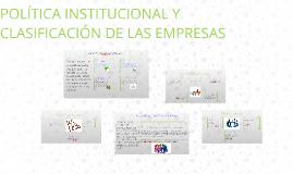 CONCEPTO DE POLITICA INSTITUCIONAL