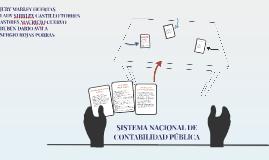 SISTEMA DE LA CONTABILIDAD PUBLICA