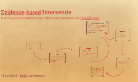 Evidence-based Interventie