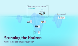 Scanning the Horizon: DSA Modernisation, inclusive practice and....What's on the radar for Student Services?