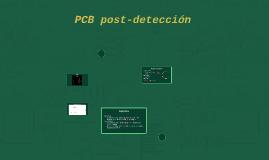 PCB post-detección