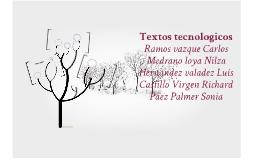 Textos tecnologicos