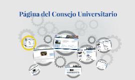Página WEB CU