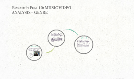 Research Post 10: MUSIC VIDEO ANALYSIS – GENRE