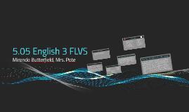 5.05 English 3 FLVS