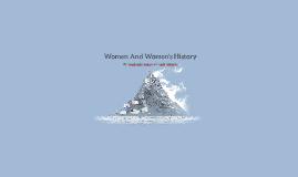 Women And Women's History
