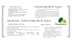 Day by Day - Trainee Grupo Pão de Açúcar