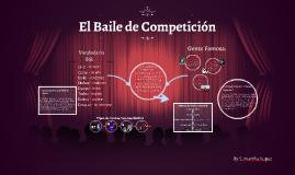 el baile de competición
