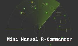 Manual R-Commander