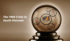Buddhist Uprising in Vietnam