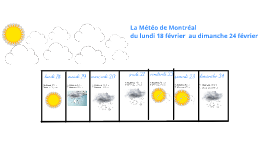 Copy of La Meteo de Montreal