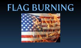 flag burning man is against yo face mutha truka