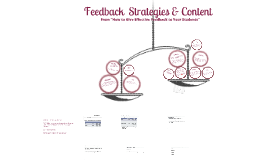 TC2 - Strategies for giving feedback to Students