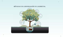 Copy of MÉTODOS DE CONSERVACIÓN DE ALIMENTOS
