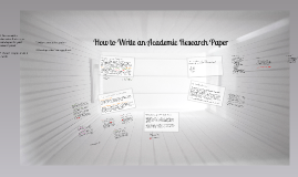 Copy of How to Start a Research Paper