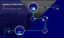 Roadmap to Middle School