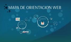 MAPA DE ORIENTACION WEB