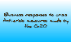 Business responses to crisis