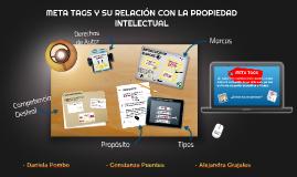 META TAGS Y SU RELACIÓN CON LA PROPIEDAD INTELECTUAL