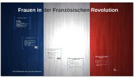 Frauen in derFranzösische Revolution
